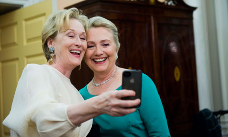 Meryl Streep and Hillary Clinton at Kennedy Center Honors gala