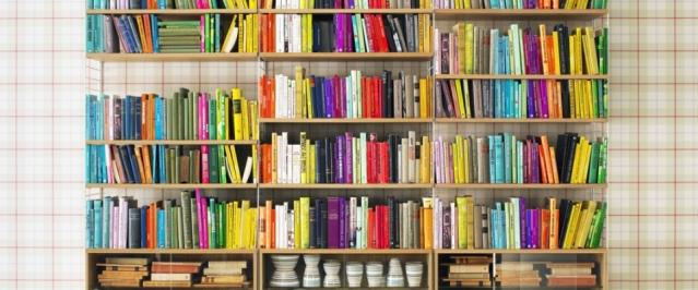 gekleurde boeken